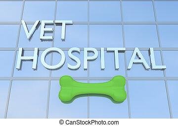 Vet Hospital concept