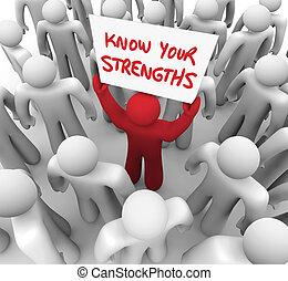 veta, din, strengths, ord, skriftligt, på, a, underteckna,...