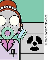 vetenskap, laboratorium, forska