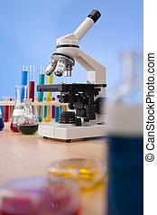 vetenskaplig, laboratorium