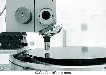 vetenskaplig, mikroskop, in, a, laboratorium