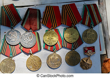 Veteran medals from Georgia - Veteran medals for their...