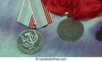 Veteran of labour medal