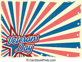 veteranen dag, achtergrond