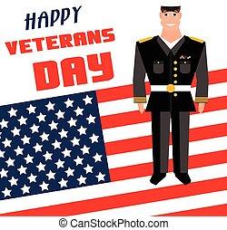 Veterans day background.