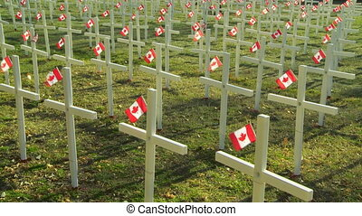 Veterans Memorial - Canadian war veterans memorial...