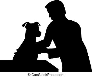 veterinario, cane