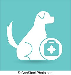 veterinary clinic concept first aid
