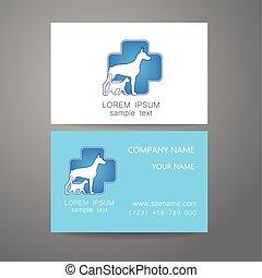 veterinary medicine logo template