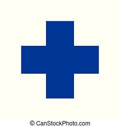 veterinary symbol blue cross