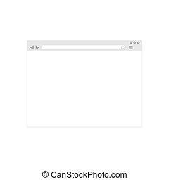 Vetor internet browser
