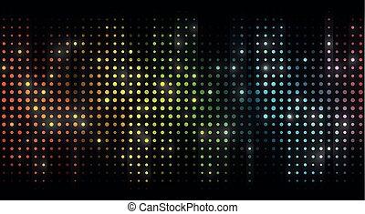 vetor, kleurrijke, achtergrond