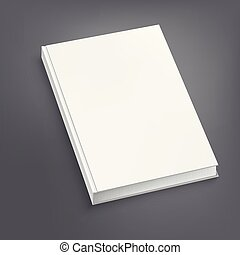 vetorial, abertos, cinzento, ilustração, livro, branca, tabela.