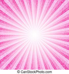 vetorial, abstratos, fundo cor-de-rosa