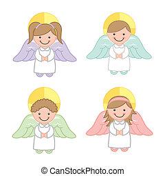 vetorial, anjo