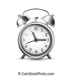 vetorial, antigas, ilustração, relógio