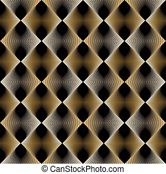 vetorial, arte gráfica, camada, stripy, contínuo, padrão, luminoso, lines., fundo, geomã©´ricas, infinito