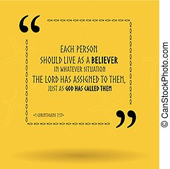 vetorial, bíblia, citação, aproximadamente, vida, objetivo