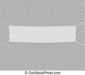 vetorial, bandeira, modelo