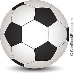 vetorial, bola futebol