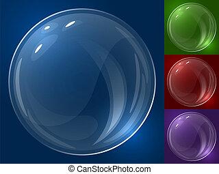 vetorial, bolha, template.