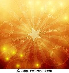 vetorial, brilhar, fundo, festivo