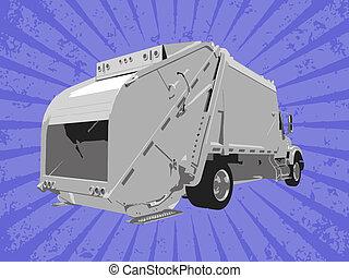vetorial, caminhão