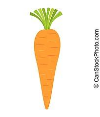 vetorial, cenoura