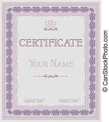 vetorial, certificado