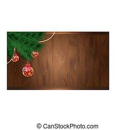 vetorial, decorações natal