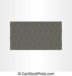 vetorial, desenho, fundo, onda