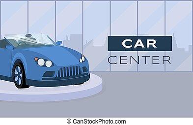 vetorial, design., apartamento, tipografia, car, veículo, serviço, ilustração, bandeira, azul, template., dealership, centro, anunciando, manutenção, transporte, cabriolé, profissional, pódio, cartaz