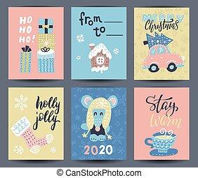 vetorial, element., editable, t-shirt, citação, fácil, lettering., typography., cartaz, mão, ou, jogo, usado, lar, natal, ser, decoração, cute, presente, desenho, desenhado, template., cartões, lata, 6