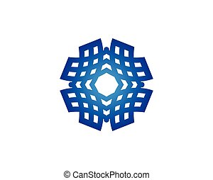 vetorial, energia solar, logotipo