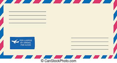 vetorial, envelope