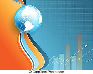 vetorial, eps10, backdrop., estatística