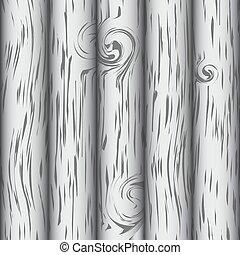 vetorial, eps10, simples, madeira, fundo, branca