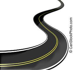 vetorial, estrada