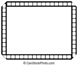 vetorial, faixa película