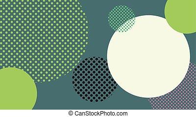 vetorial, fundo, ilustração, halftone