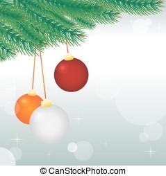 vetorial, fundo, para, feriado christmas, desenho