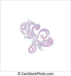 vetorial, ilustração, decoração