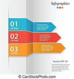 vetorial, ilustração negócio, infographics