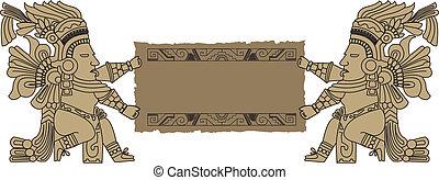 vetorial, inca, tribal, mayan