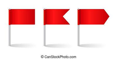 vetorial, jogo, bandeiras, ilustração