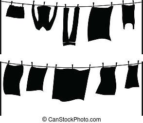 vetorial, lavando