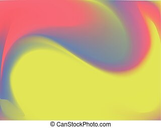 vetorial, luminoso, holographic, experiência., estilo, 80s, -, 90s., coloridos, textura, em, pastel, néon, color.