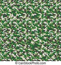 vetorial, militar, textura, camuflagem, seamless