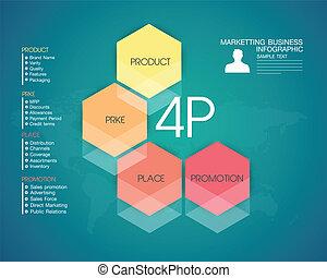 vetorial, -, negócio, e, marketing