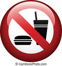 vetorial, nenhum alimento, marca